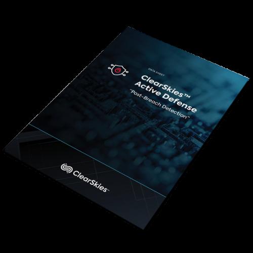 ClearSkies-Active-Defense-Datasheet-Mockup